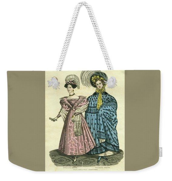 Philadelphia Fashions Weekender Tote Bag
