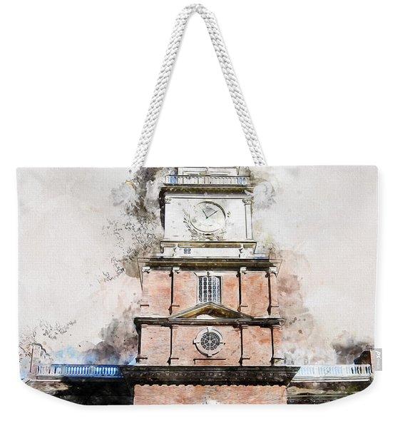Philadelphia Independence Hall - 01 Weekender Tote Bag