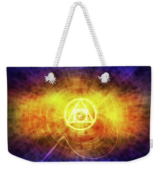 Philosopher's Stone Weekender Tote Bag