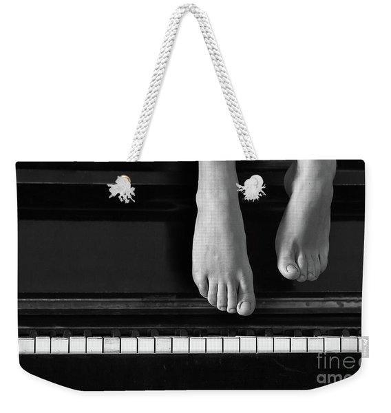 Piano #0215az Weekender Tote Bag