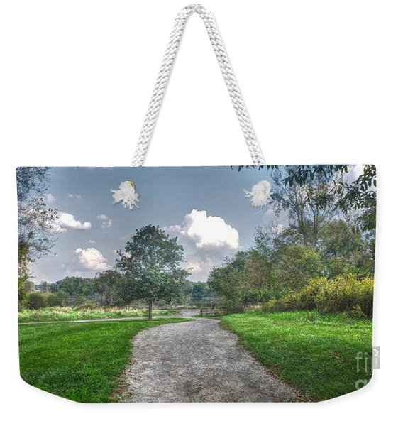 Pickerington Ponds Walkway Weekender Tote Bag