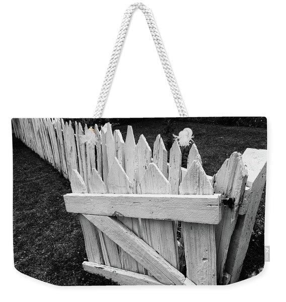 Pickett Fence Weekender Tote Bag