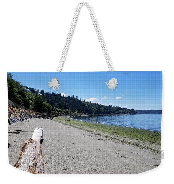 Picnic Point Beach Weekender Tote Bag