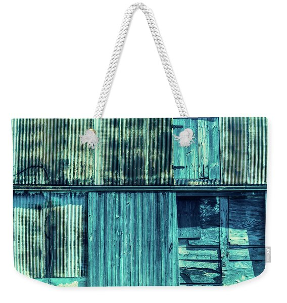 Pieces Of The Past Weekender Tote Bag