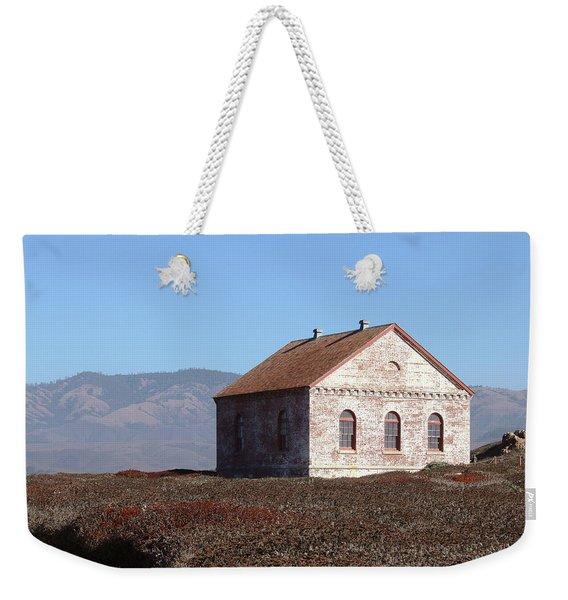 Piedras Blancas - Fog Signal Building Weekender Tote Bag