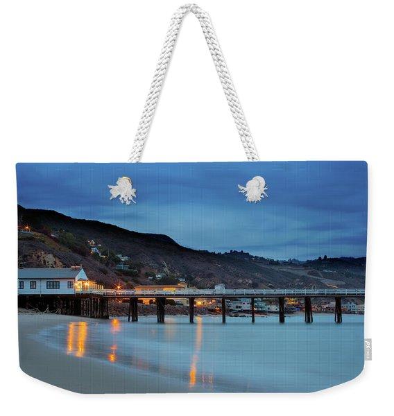 Pier House Malibu Weekender Tote Bag