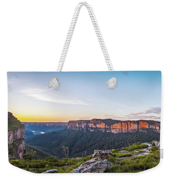 Pierces Dawn Weekender Tote Bag