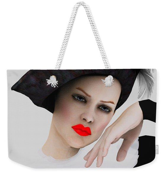 Pierrette De Vogue Weekender Tote Bag
