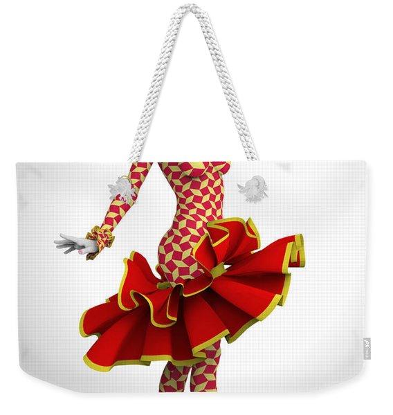 Pierrette Of Madrid Weekender Tote Bag