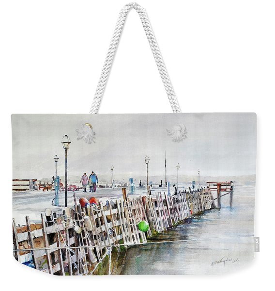 Piers To Be Cold Weekender Tote Bag