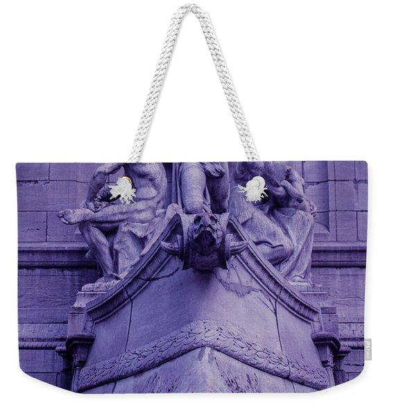 Pigeon Placement Weekender Tote Bag