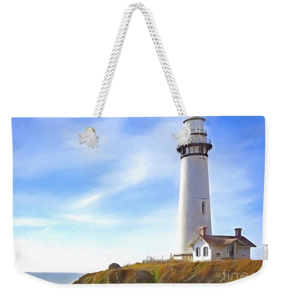 Pigeon Point Lighthouse Ca Weekender Tote Bag