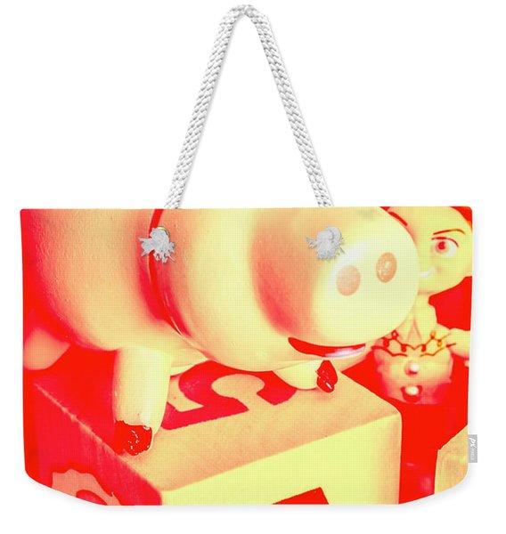 Piggybank Poster Weekender Tote Bag
