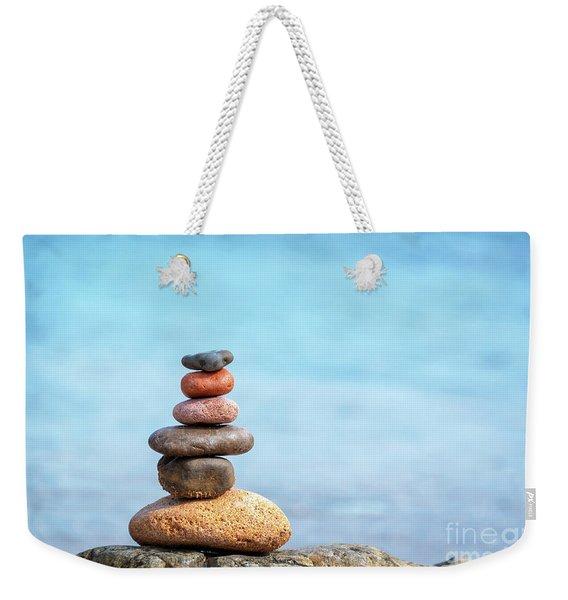 Pile Of Beach Pebbles Weekender Tote Bag