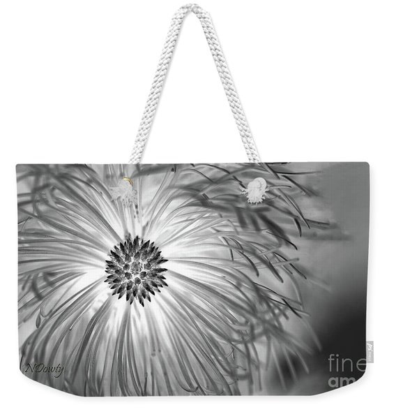 Pine Cone With Needle Halo Weekender Tote Bag