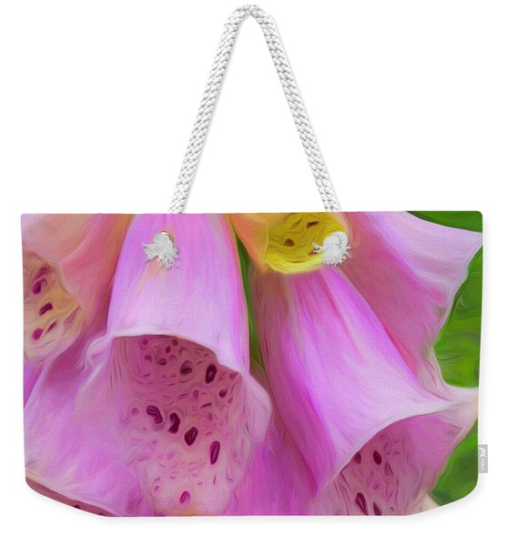 Pink Bells Weekender Tote Bag