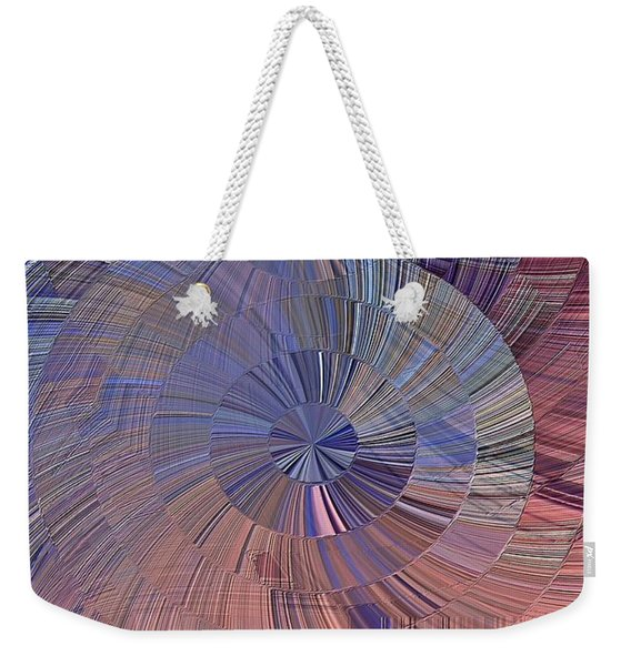 Pink, Blue And Purple Weekender Tote Bag