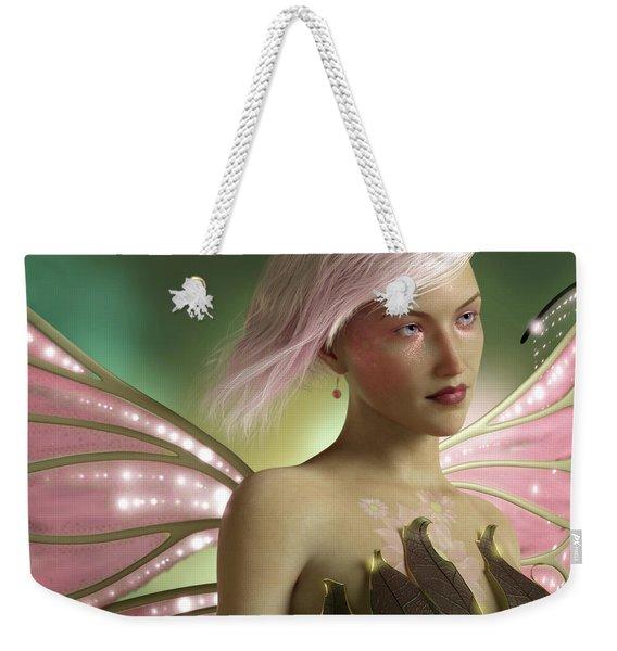 Pink Fairy Weekender Tote Bag