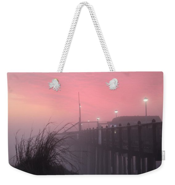 Pink Fog At Dawn Weekender Tote Bag