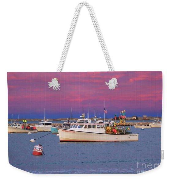 Pink In Plymouth Weekender Tote Bag