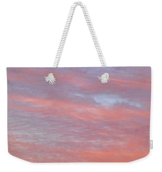 Pink In The Sky Weekender Tote Bag