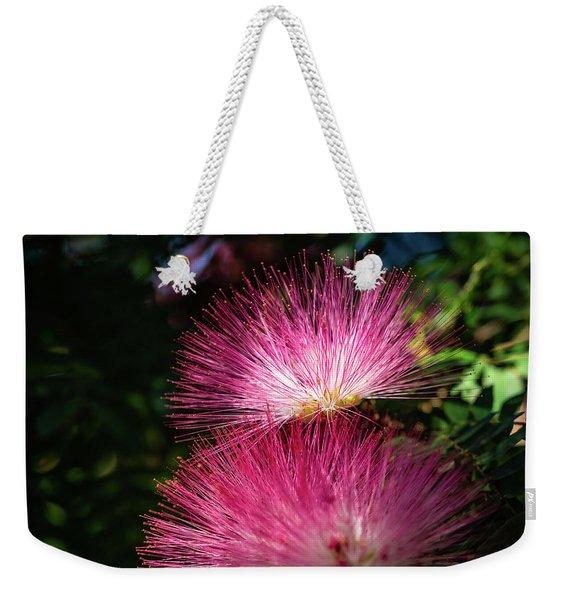 Pink Light Weekender Tote Bag