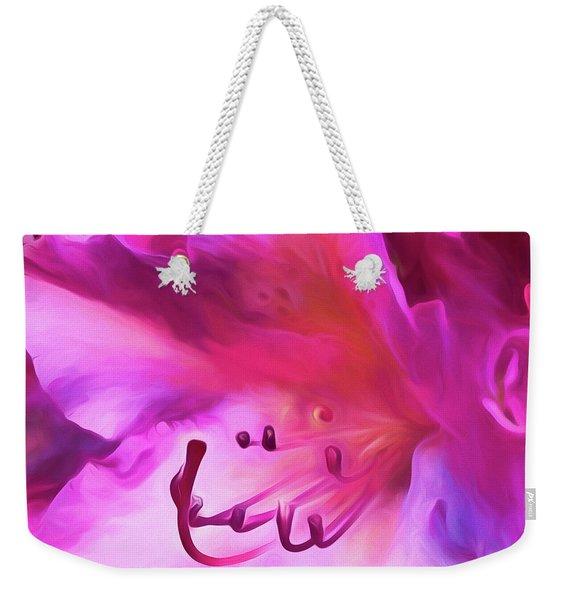 Pink O'keefe Weekender Tote Bag