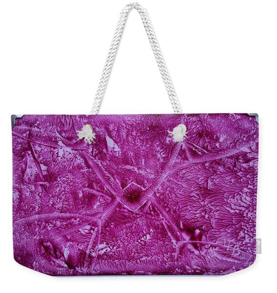 Pink Triangles Weekender Tote Bag