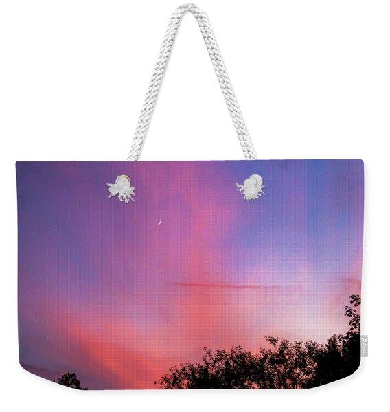 Pink Whisps Weekender Tote Bag