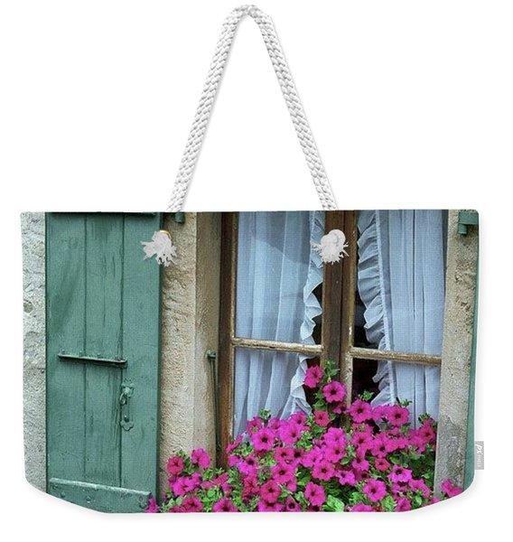 Pink Window Box Weekender Tote Bag