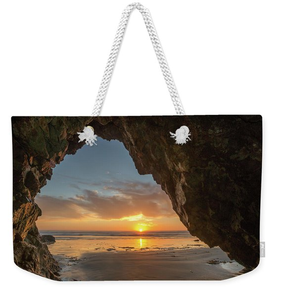 Pismo Caves Sunset Weekender Tote Bag