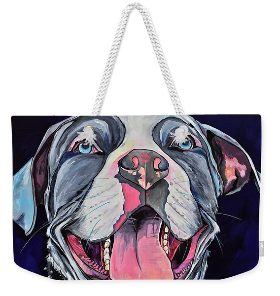 Pit Bull Love Weekender Tote Bag
