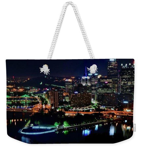 Pittsburgh Over The Monongahela 2019 Weekender Tote Bag
