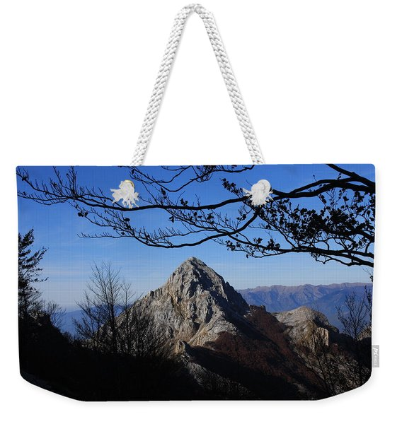 Pizzo D'uccello Alpi Apuane Weekender Tote Bag
