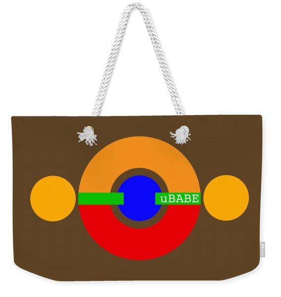 Planet Babe Weekender Tote Bag