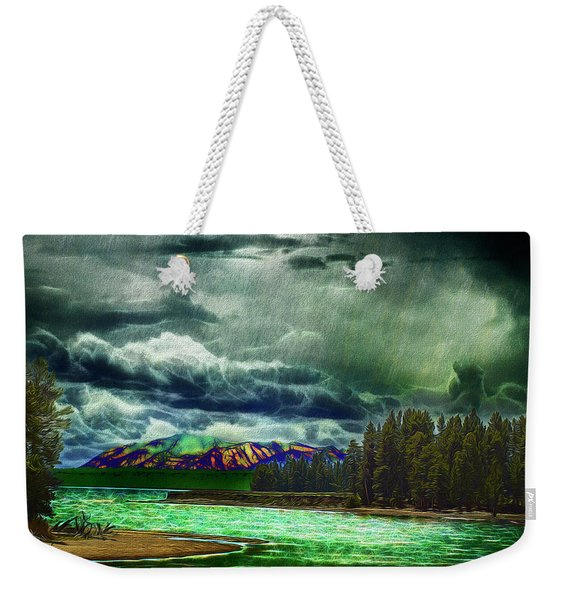 Planetary Infection Weekender Tote Bag