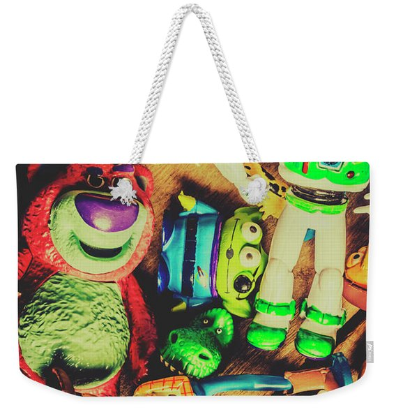Play In Imagination Weekender Tote Bag