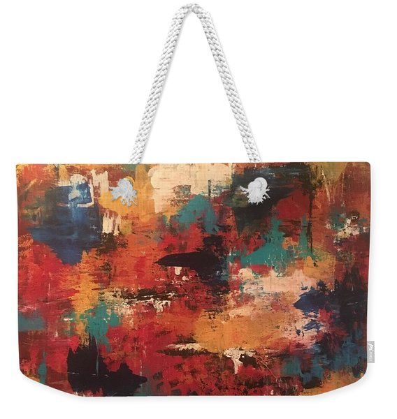 Playing With Color Weekender Tote Bag