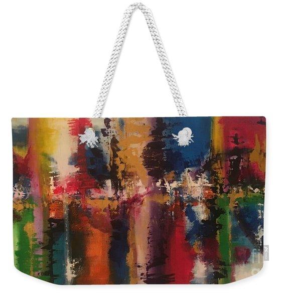 Playing With Color II Weekender Tote Bag