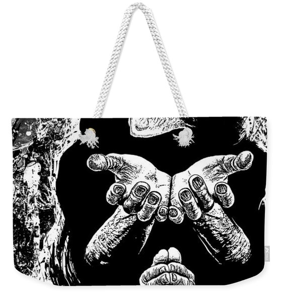 Pleading With The End Weekender Tote Bag