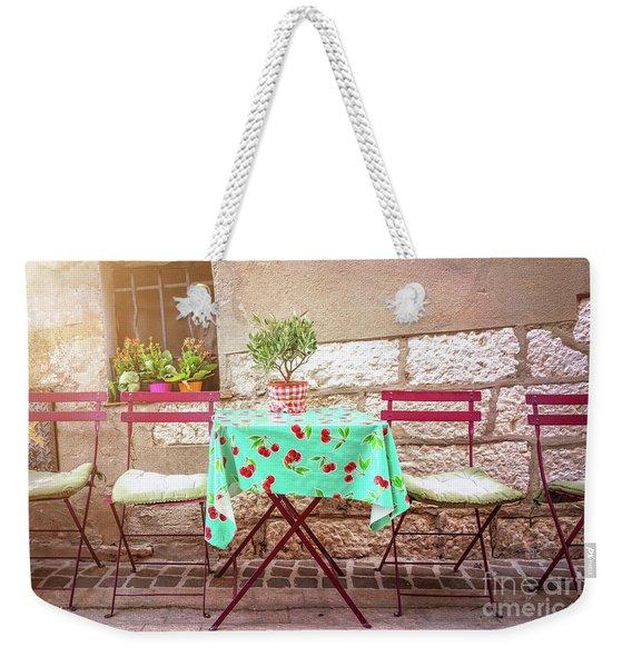 Please Have A Seat Weekender Tote Bag
