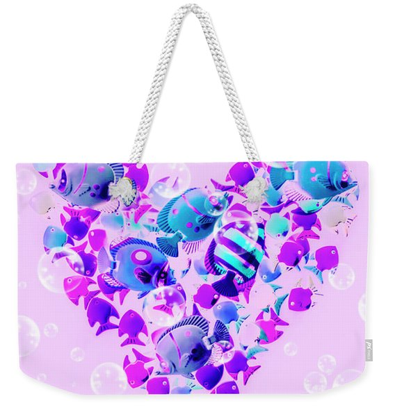 Plenty Of Fish In The Sea Weekender Tote Bag