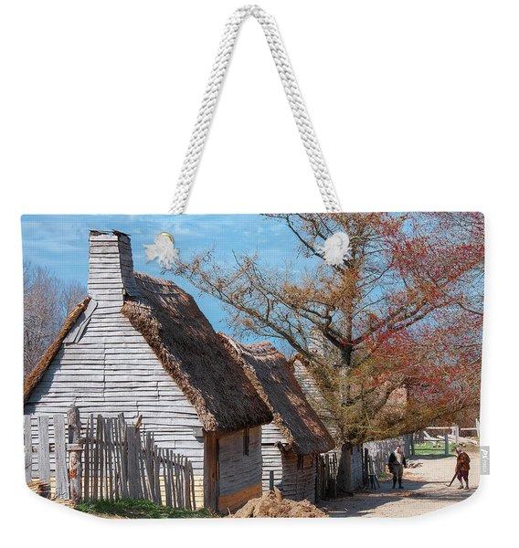 Plimoth Plantation Weekender Tote Bag