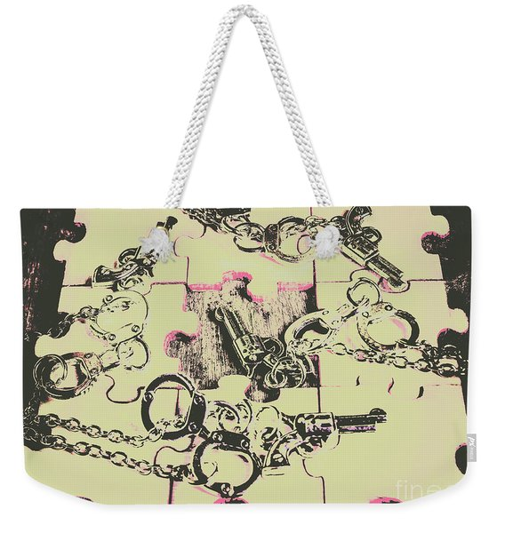 Plot Holes Weekender Tote Bag