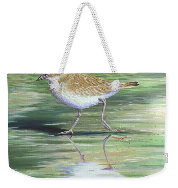 Plover Reflections Weekender Tote Bag