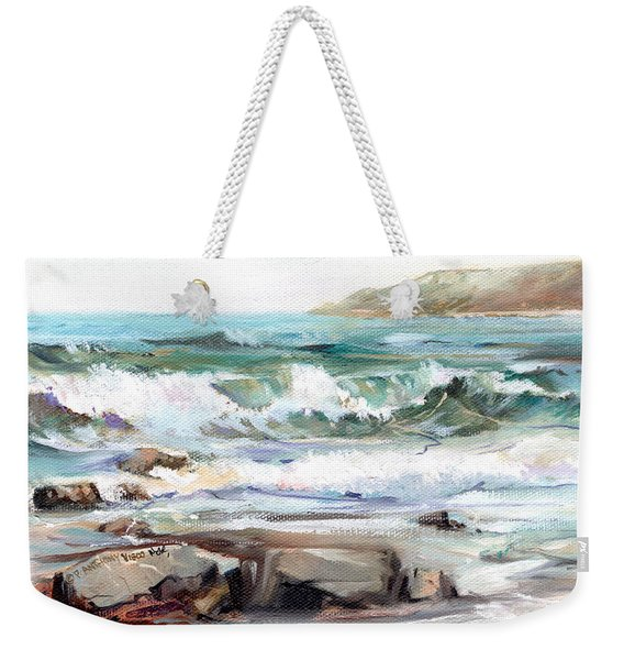 Overlooking Plymouth Beach Weekender Tote Bag