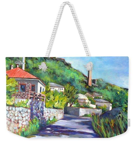 Pocitelji - A Heritage Village In Bosina Weekender Tote Bag