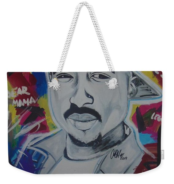 Poetic Pac Weekender Tote Bag
