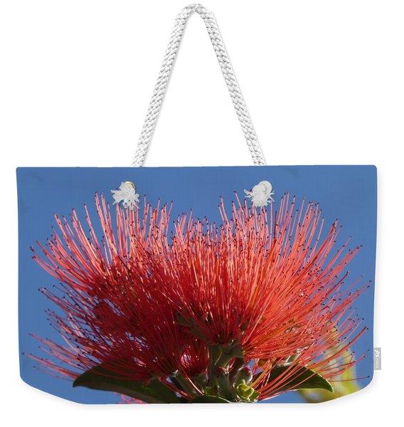 Pohutukawa Flower Weekender Tote Bag