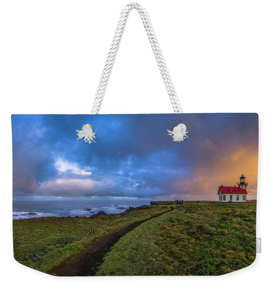Point Cabrillo Light Station Panorama Weekender Tote Bag